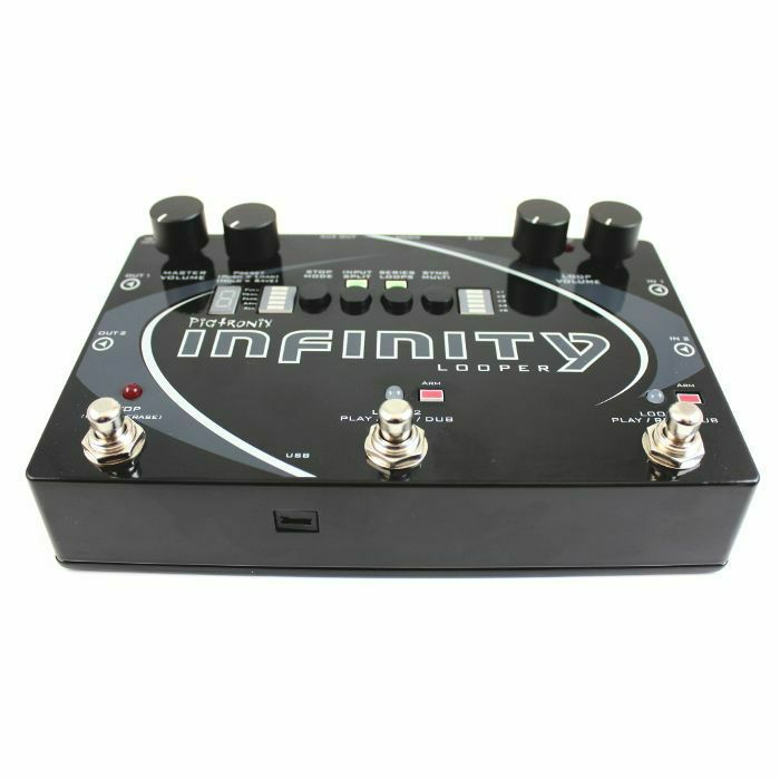 PIGTRONIX - Pigtronix Infinity Looper Stereo Performance Looper Pedal + Remote Switch Pedal