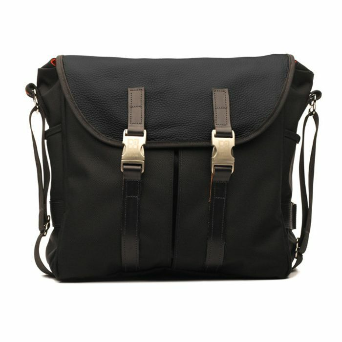 TUCKER & BLOOM - Tucker & Bloom Leather Edition North To South Messenger 12