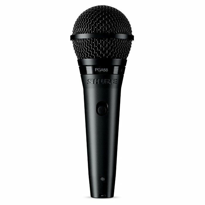 SHURE - Shure PGA58 QTR Cardioid Dynamic Vocal Microphone With XLR-QTR Cable