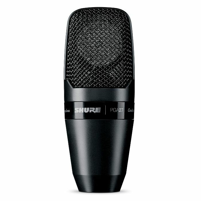SHURE - Shure PGA27 LC Large Diaphragm Side Address Cardioid Condenser Microphone