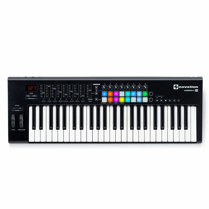 NOVATION - Novation Launchkey 49 MK2 Keyboard Controller With Ableton Live Lite Software