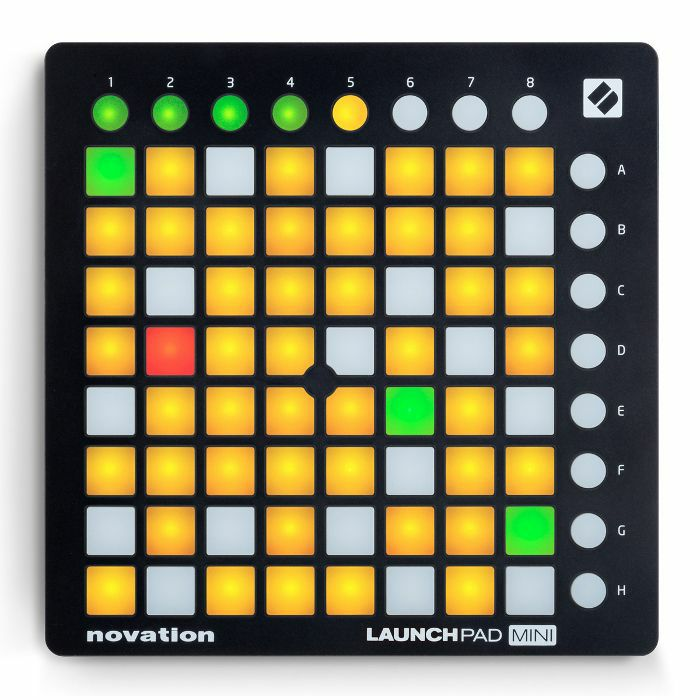 NOVATION - Novation Launchpad Mini MK2 Pad Controller With Ableton Live Lite Software