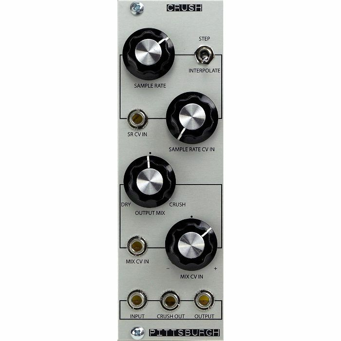 PITTSBURGH MODULAR - Pittsburgh Modular Crush Voltage Controlled Downsampler Effects Module