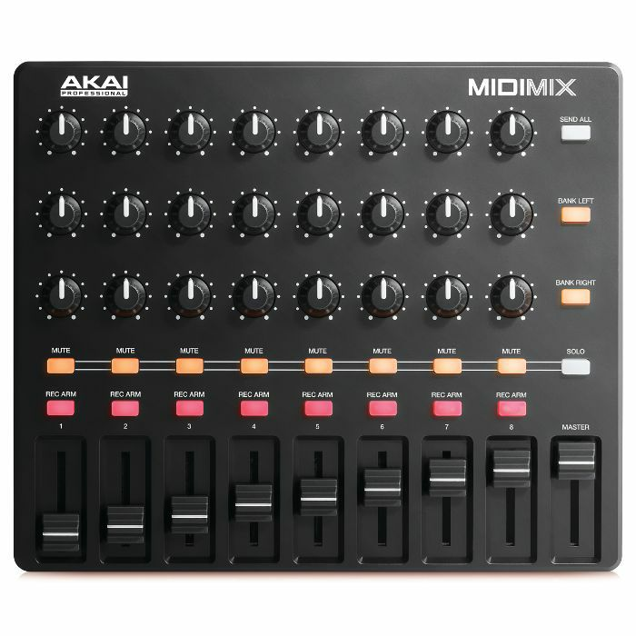 AKAI - Akai MIDI Mix USB Mixer Controller With Ableton Live Lite Software