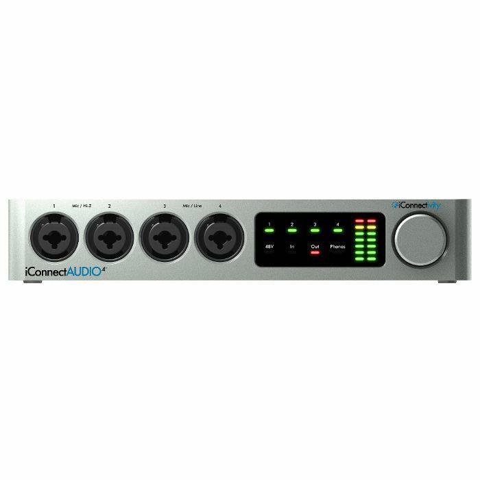 ICONNECTIVITY - Iconnectivity iConnect Audio4+ Lightning Audio & MIDI Interface