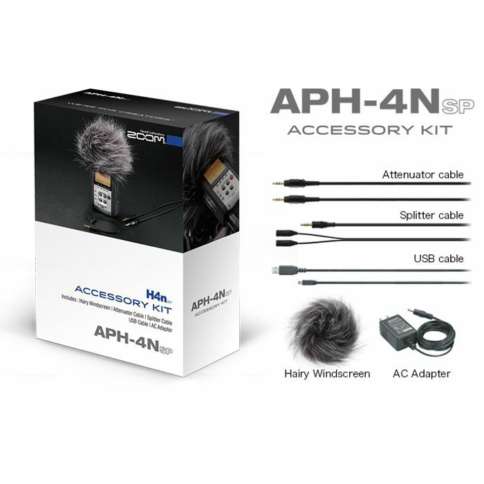 ZOOM - Zoom APH-4nSP Accessory Kit For H4nPro Handy Recorder