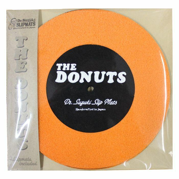 DR SUZUKI - Dr Suzuki The Donuts 7 Inch Slipmats (pair, orange & black)