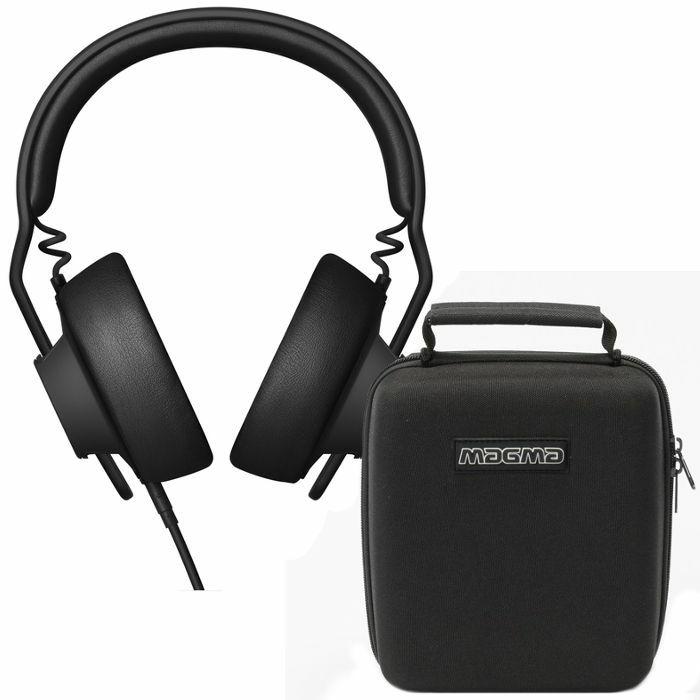 AIAIAI/MAGMA - AIAIAI TMA2 Studio Preset Modular Headphones (black) + FREE Magma Headphone Hardcase (Black)
