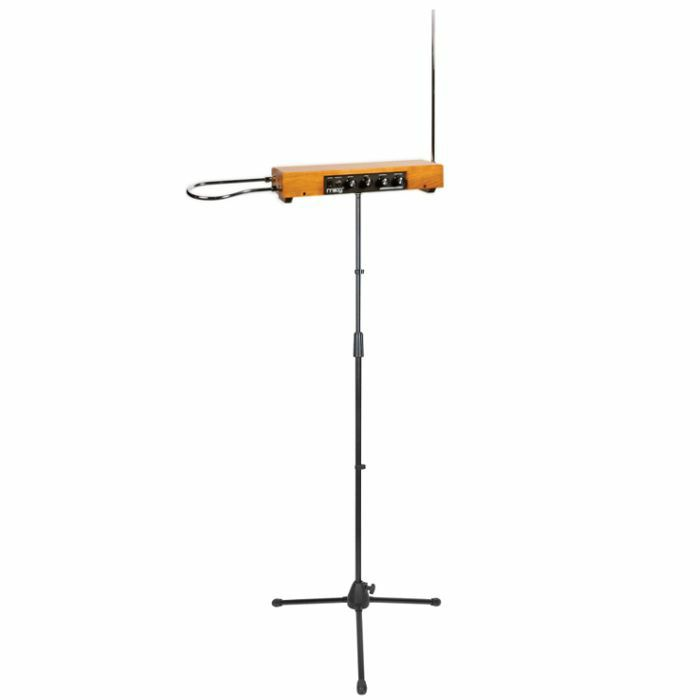 Moog Etherwave Standard Theremin Assembled (ash) + FREE Straight Microphone  Stand (black)