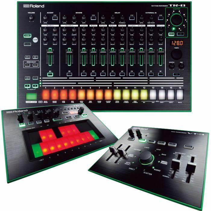 ROLAND - Roland Aira Bundle 1: TR8 Rhythm Performer, TB3 Touch Bassline & VT3 Voice Transformer