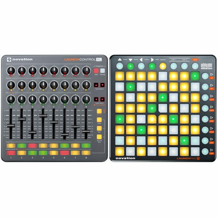 novation novation launch control xl usb midi controller launchpad s controller with ableton. Black Bedroom Furniture Sets. Home Design Ideas