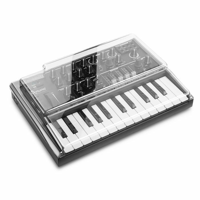 DECKSAVER - Decksaver LE Arturia Microbrute Cover (smoked clear, light edition)