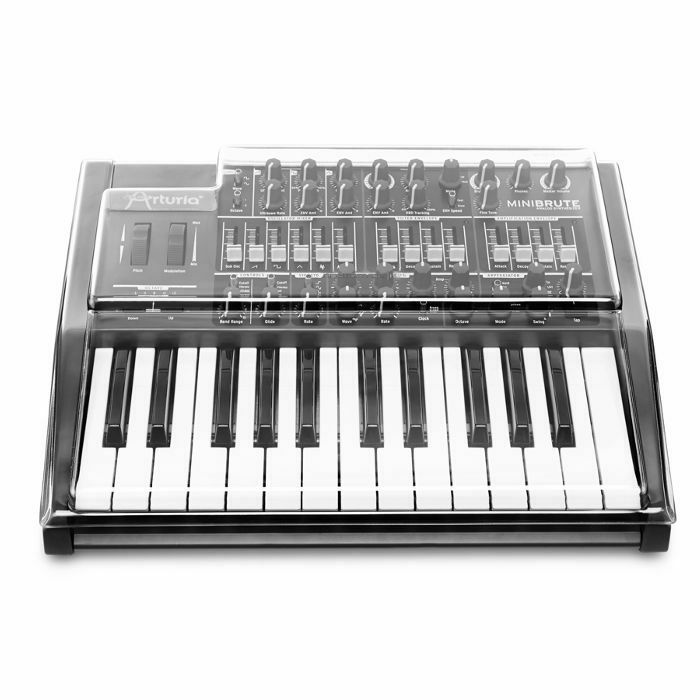 DECKSAVER - Decksaver LE Arturia Minibrute Cover (smoked clear, light edition)