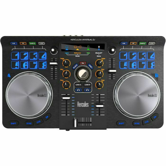 HERCULES - Hercules Universal DJ Controller With DJuced DJ Software