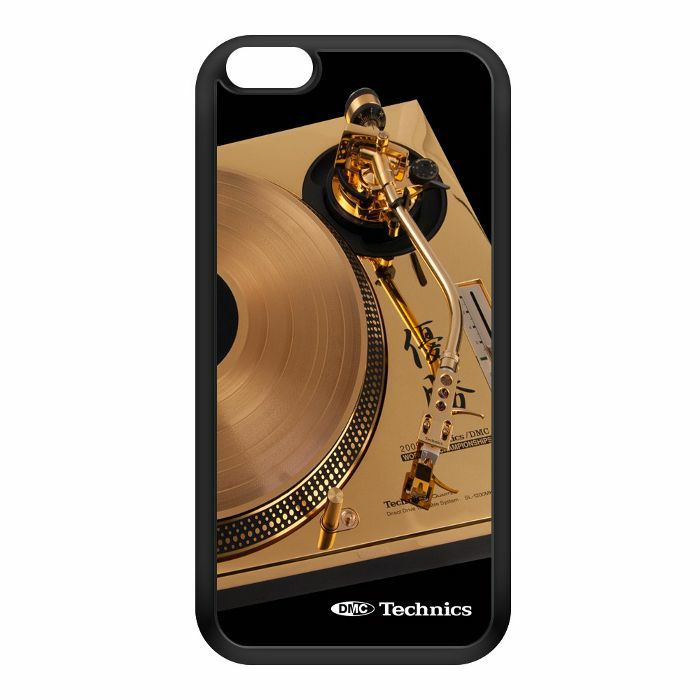 DMC - Technics Iconic Gold Turntable iPhone 6 Cover (black/gold)