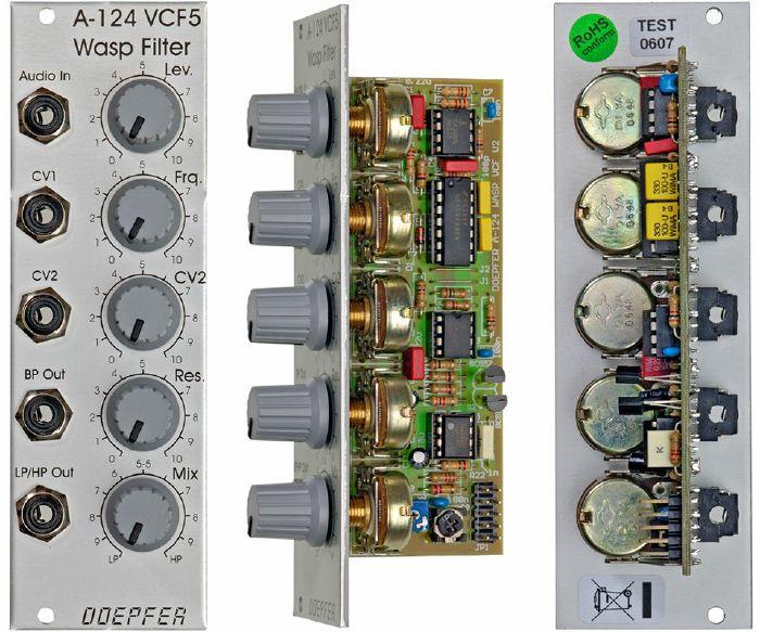 DOEPFER - Doepfer A124 Wasp Filter Module