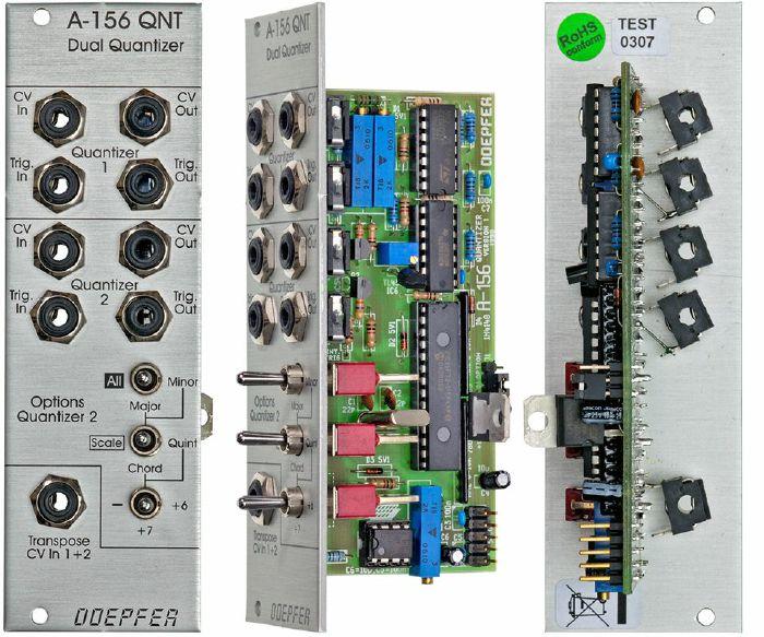 DOEPFER - Doepfer A156 Dual Quantizer Module