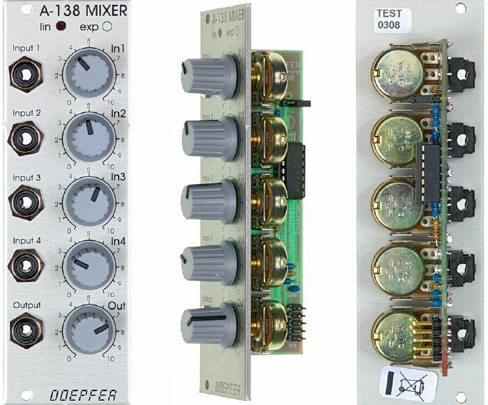 DOEPFER - Doepfer A138a Linear Mixer Module