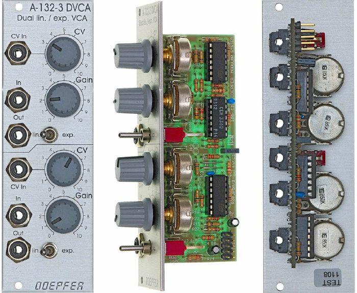 DOEPFER - Doepfer A-132-3 Dual Linear/Exponential VCA Module
