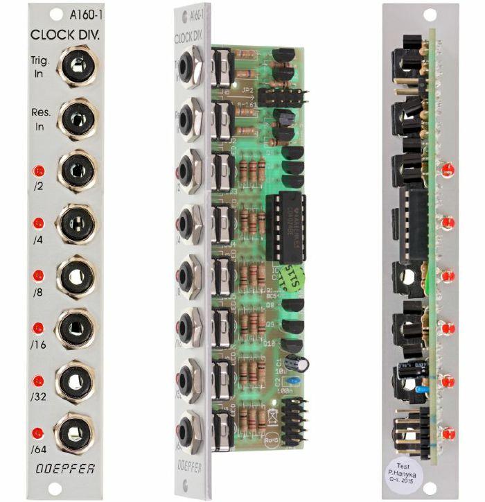 DOEPFER - Doepfer A160-1 Clock Trigger Divider Module
