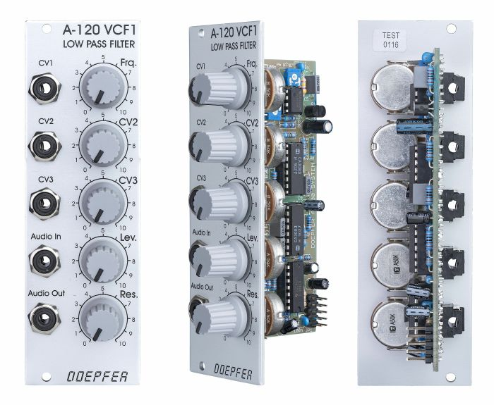 DOEPFER - Doepfer A-120 VCF1 24dB Low Pass Filter Module