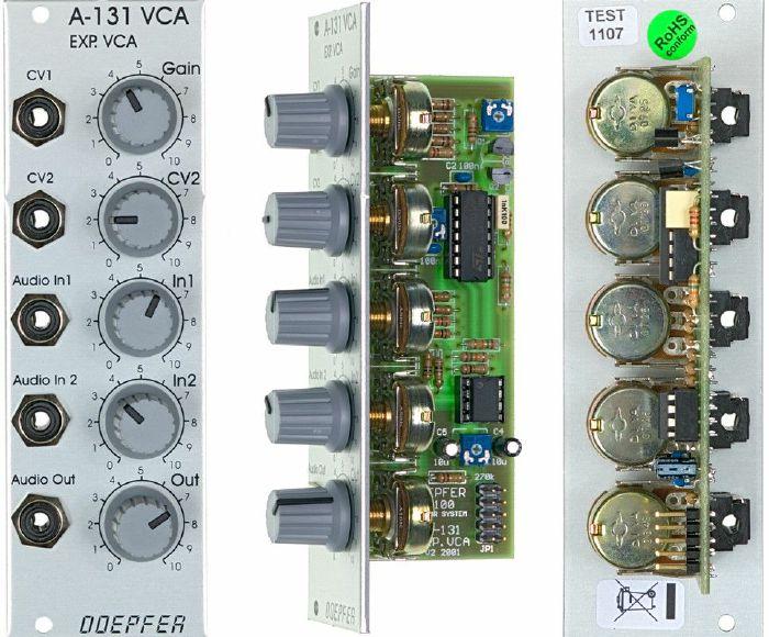 DOEPFER - Doepfer A-131 VCA Voltage Controlled Amplifier Module