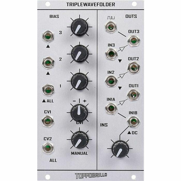 TOPPOBRILLO - Toppobrillo Triple Wavefolder Module