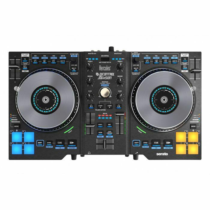 HERCULES - Hercules DJ Control Jogvision Performance DJ Controller With Serato DJ Intro