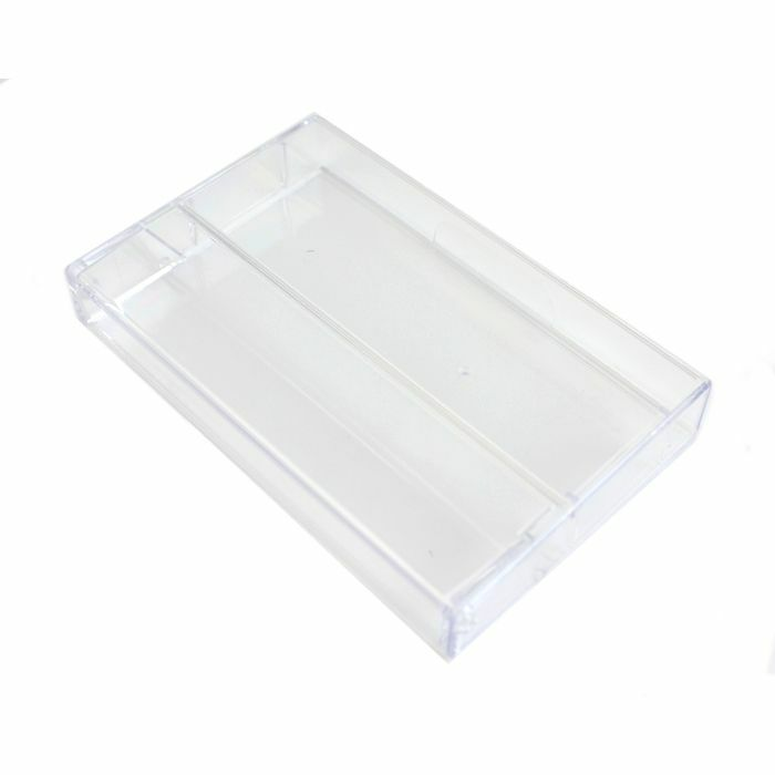 TAPELINE - Tapeline Clear Plastic Cassette Library Case (single, without pins)
