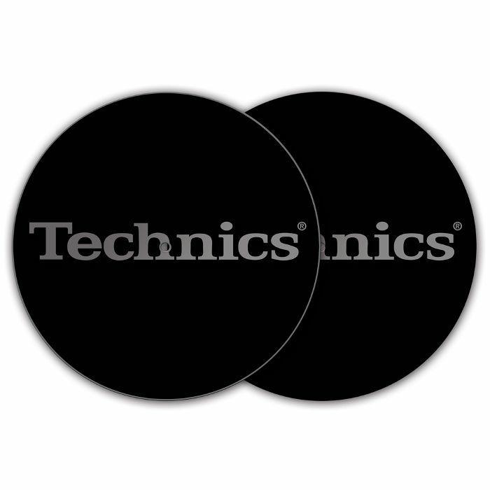 DMC - DMC Technics Silver Logo Slipmats (pair, silver on black)