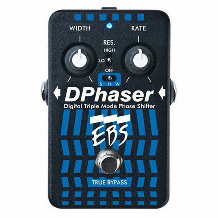 EBS - EBS DPhaser Triple Mode Phase Shifter Pedal For Guitar & Bass (B-STOCK)