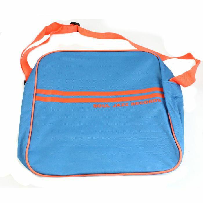 Soul Jazz 12 Inch Record Bag Marine Blue Amp Orange Bei