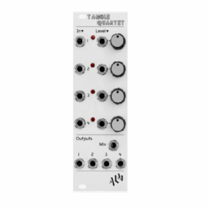 ALM - ALM Tangle Quartet Quad Linear VCA & Mixer Module
