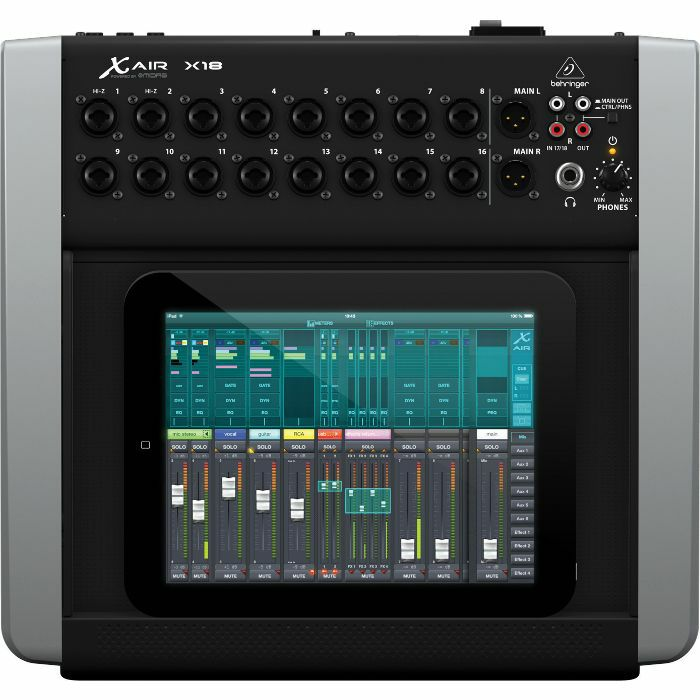 behringer behringer x air x18 digital mixer for ipad android tablets vinyl at juno records. Black Bedroom Furniture Sets. Home Design Ideas