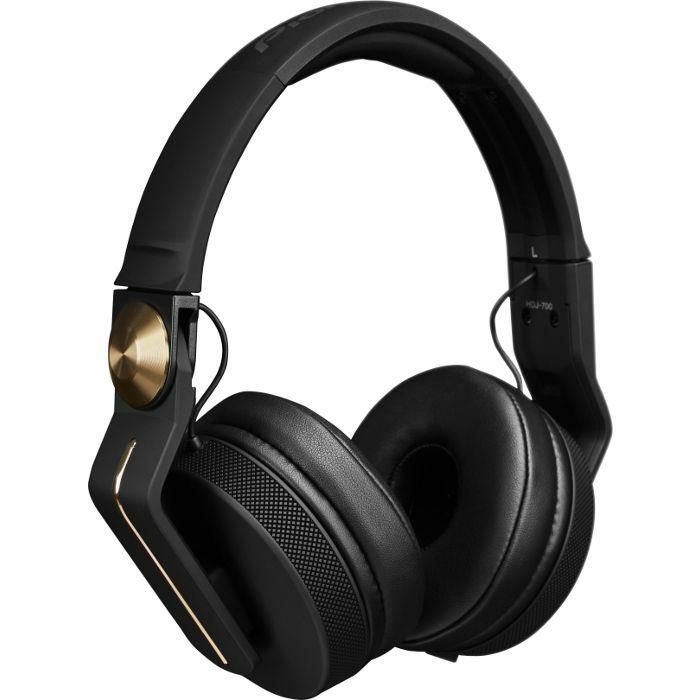 PIONEER - Pioneer HDJ700 DJ Headphones (matt black & gold)
