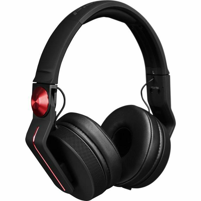 PIONEER - Pioneer HDJ700 DJ Headphones (matt black & red)