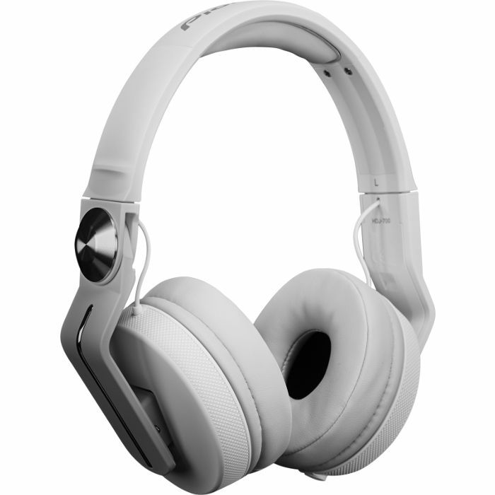 PIONEER - Pioneer HDJ700 DJ Headphones (cool white)