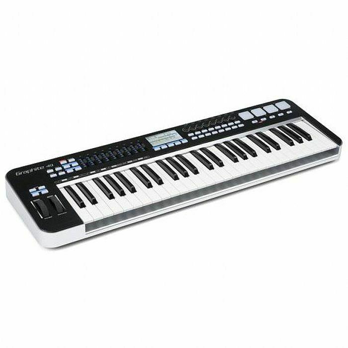 SAMSON - Samson Graphite 49 USB MIDI Controller Keyboard With Native Instruments Komplete Elements Production Software (B-STOCK)