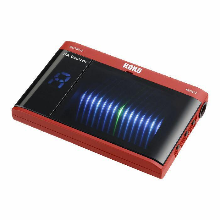 KORG - Korg GA Custom Chromatic Tuner (red)