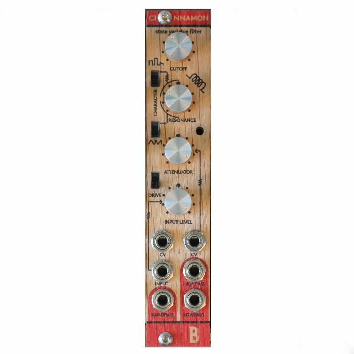 BASTL INSTRUMENTS - Bastl Instruments Cinnamon Voltage Controlled State Variable Filter Module