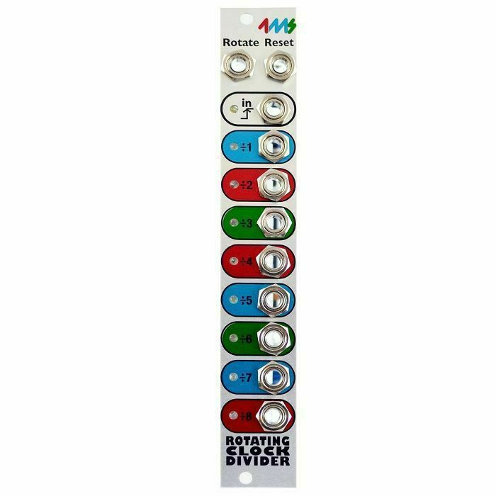 4MS - 4ms Rotating Clock Divider Module (Rev 2)
