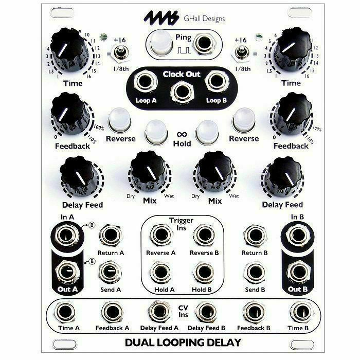 4MS - 4ms Dual Looping Delay Module