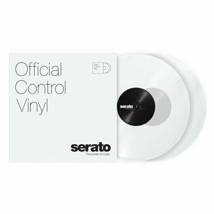 SERATO - Serato Standard Colours 12 Inch Control Vinyl (clear, pair)