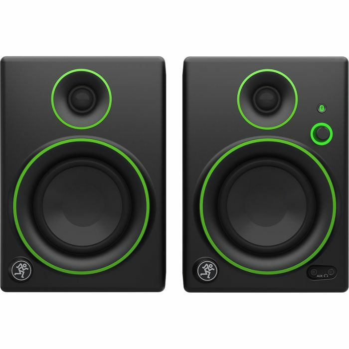 MACKIE - Mackie CR4BT Creative Reference Multimedia Bluetooth Streaming Monitors (pair)