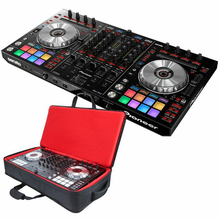 PIONEER - Pioneer DDJ SX2 Performance DJ Controller With Serato DJ Software + Pioneer DJC SC5 Carry Bag