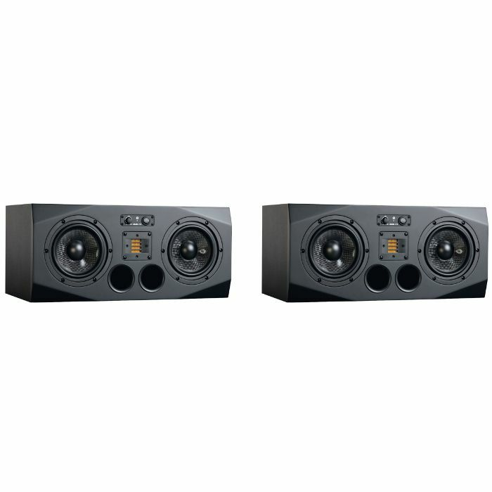 ADAM - Adam A77X Active Horizontal Studio Monitors (A & B matched pair, black) ***CLAIM 10% BACK ON A PAIR OF ADAM AX MONITORS! OFFER ENDS 31ST DEC 2017***