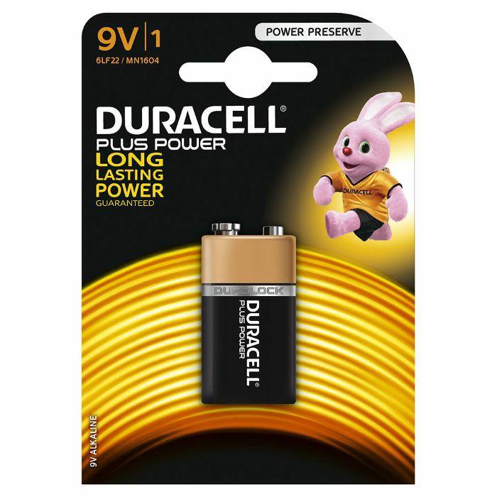 DURACELL - Duracell PP3 9V Plus Power Alkaline Battery (single)