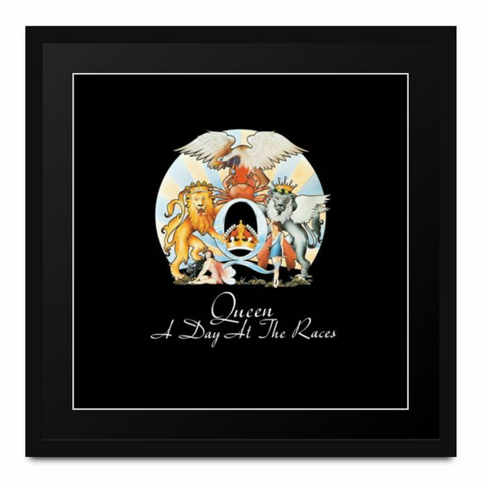 QUEEN - Athena Album Art: Queen - A Day At The Races