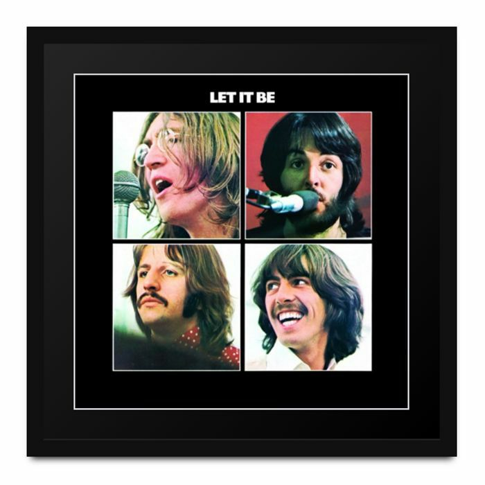 BEATLES, The - Athena Album Art: The Beatles - Let It Be