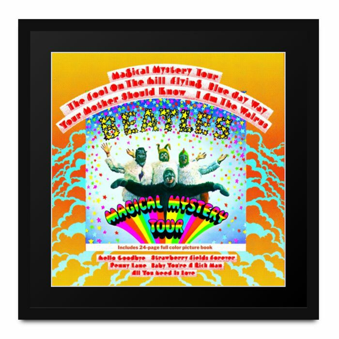 BEATLES, The - Athena Album Art: The Beatles - Magical Mystery Tour